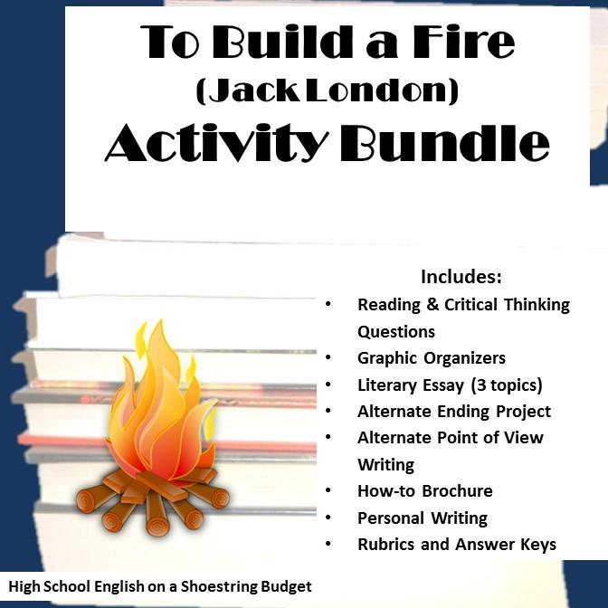 to-build-a-fire-activity-bundle-cover