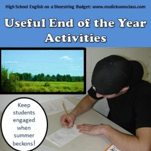 Useful End of the Year Activities | Ms  Dickson's Class